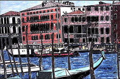 Venice Italy Art Print by Monica Engeler