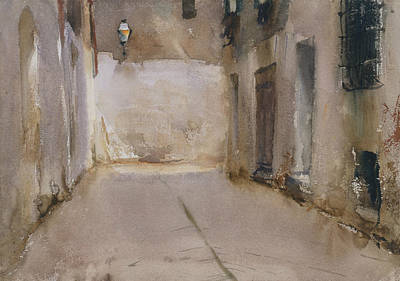 Venice Drawing - Venice by John Singer Sargent