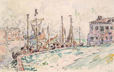 Drawing - Venice by Paul Signac