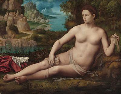 Painting - Venus by Bernardino Luini