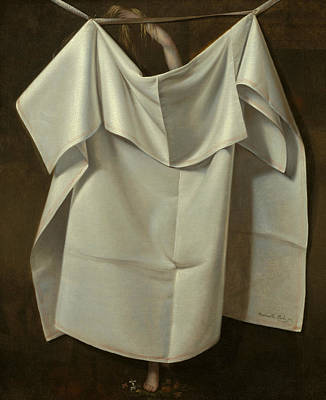 Venus Rising From The Sea - A Deception Art Print by Raphaelle Peale