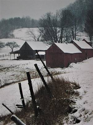 Photograph - Vermont Winter by John Scates
