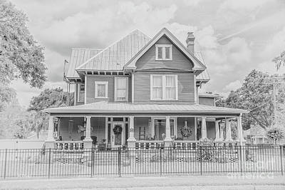 Photograph - Art From The Past Victorian Mansion  by Rene Triay Photography