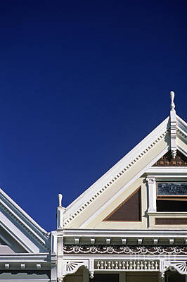 Photograph - Victorian Style Homes  by Jim Corwin