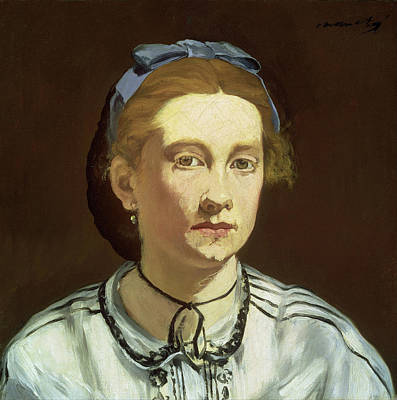 Women Painting - Victorine Meurent by Edouard Manet