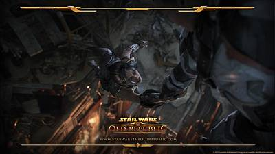 Old Video Game Digital Art - Video Games Star Wars The Old Republic                by F S
