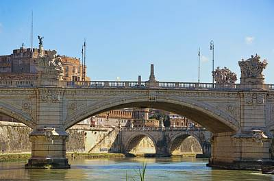 Photograph - View Along The Lungotevere by JAMART Photography