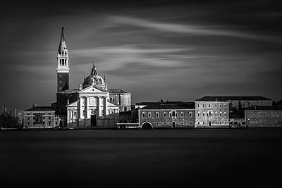 Black Photograph - View From San Marco by Andrew Soundarajan