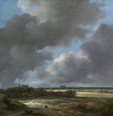 Painting - View Of Alkmaar by Jacob van Ruisdael
