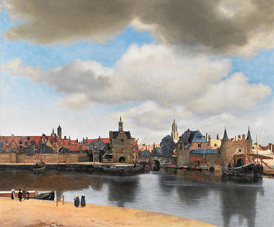 Painting - View Of Delft by Johannes Vermeer
