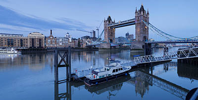 View Of St. Katharine Pier And Tower Art Print by Panoramic Images