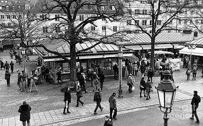 Photograph - Viktualienmarkt by John Rizzuto