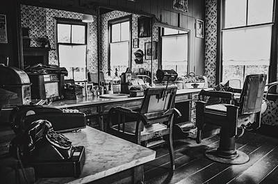 Photograph - Vintage Barbershop by Skitterphoto