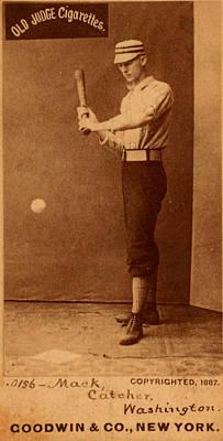 Painting - Vintage Baseball by Vintage Pix