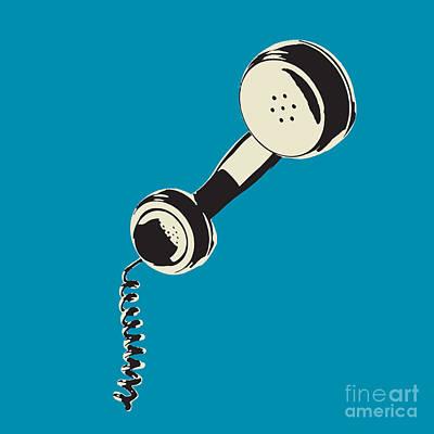 Digital Art - Vintage Telephone Receiver by Igor Kislev