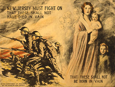 Painting - Vintage Wwi Poster by Vintage Pix