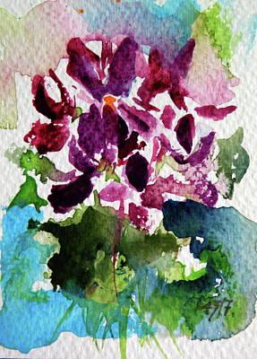Painting - Violet by Kovacs Anna Brigitta
