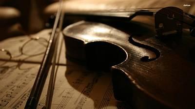 Violin Photograph - Violin by Mariel Mcmeeking