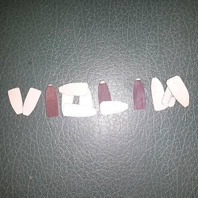 Violins Photograph - #violin #violon #violino #liutaio #tool by Emanuel Martinelli
