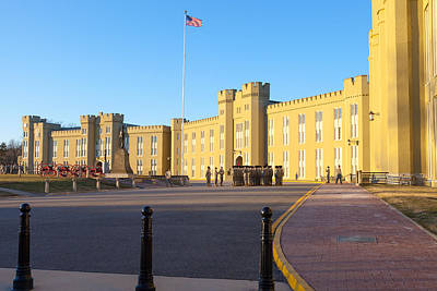 Photograph - Virginia Military Institute by Melinda Fawver