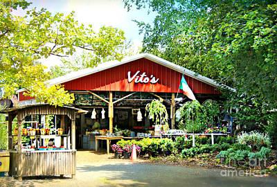 Photograph - Vito's Farm Stand by Beth Ferris Sale
