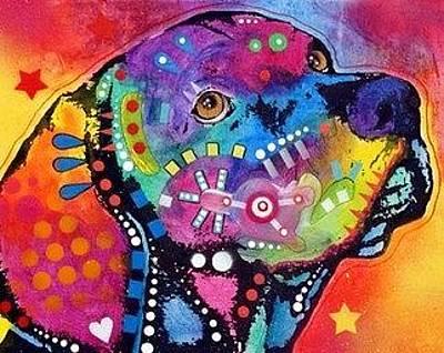 Vizsla Painting - Vizsla by Dean Russo