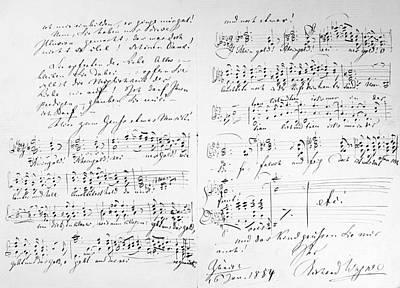 Photograph - Wagner, Das Rheingold by Granger