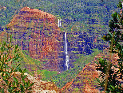 Photograph - Waimea Canyon 2 by Ellen Henneke