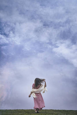 Shawl Photograph - Walking Into The Sky by Joana Kruse