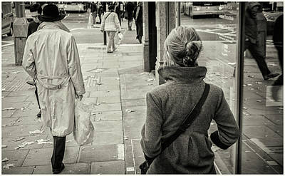 Photograph - Walking by Stewart Marsden