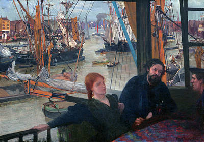 Painting - Wapping by James McNeill Whistler