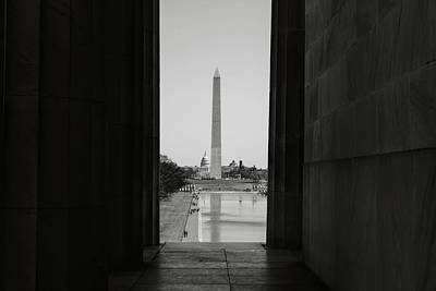 Photograph - Washington Monument And Capitol Hill by Brandon Bourdages