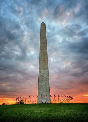 Photograph - Washington Monument by Ryan Wyckoff