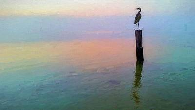 Watching Over Pensacola Bay Art Print by JC Findley