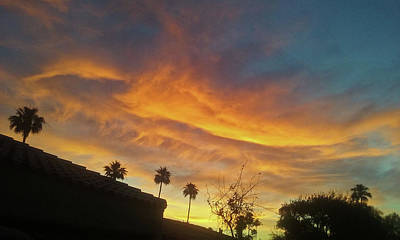 Photograph - Water Colored Sky by Jay Milo