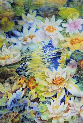 Painting - Water Garden by Ann Nicholson