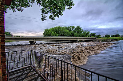 Photograph - Water Under The Bridge by Bonfire Photography