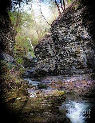 Fingerlakes Photograph - Watkins Glen by Ken Marsh