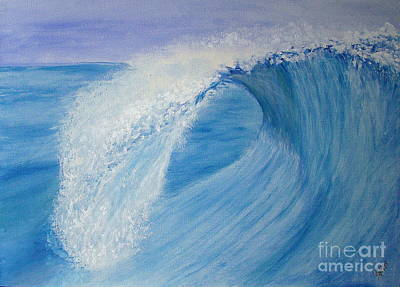 Wall Art - Painting - Splash  by Cybele Chaves
