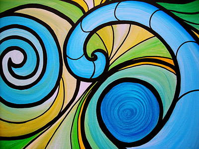 Painting - Waves by Pristine Cartera Turkus