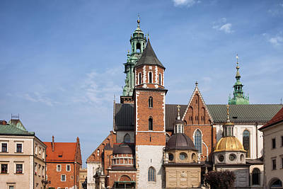 Cracow Photograph - Wawel Cathedral In Krakow by Artur Bogacki