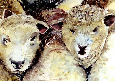 Painting - We Like Sheep by Mindy Newman
