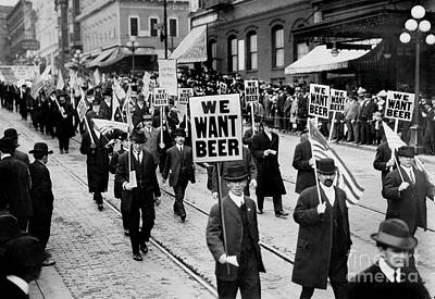 Wanting Photograph - We Want Beer by Jon Neidert