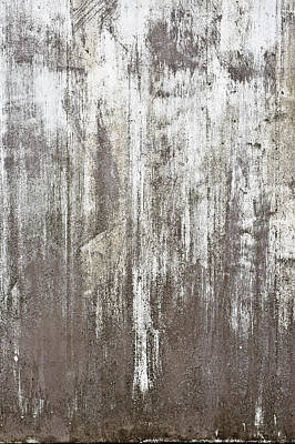 Messy Photograph - Weathered Metal by Tom Gowanlock