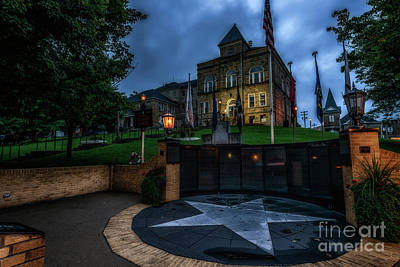 Art Print featuring the photograph Webster County Courthouse by Thomas R Fletcher