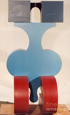 Sculpture - Weight Lifter II by Robert F Battles