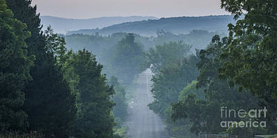 Welch Road In Glen Arbor Art Print by Twenty Two North Photography