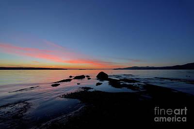 Photograph - West Coast Sunset by Terry Elniski
