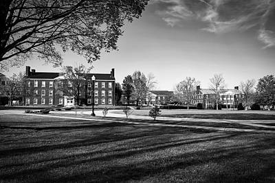 Photograph - West Virginia Wesleyan Collge by Library Of Congress