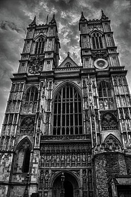 Westminster Abbey Wall Art - Photograph - Westminster Abbey by Martin Newman